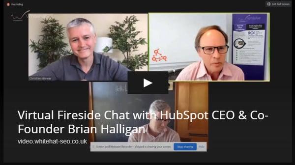 HubSpot Brian Halligan Whitehat Clwyd Probert