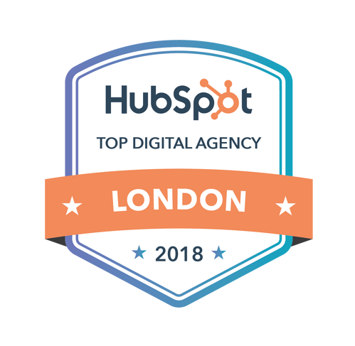 Marketing award - Top Digital Marketing Agency London 2018