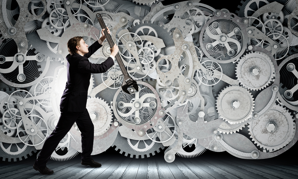 Keep it moving. cogs mechanism of your business that need to turn to keep it moving effectively