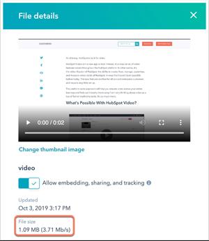 hubspot file details