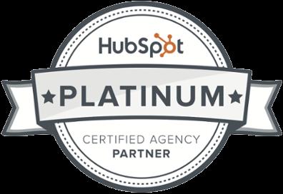 Hubspot Platinum marketing agency Badge