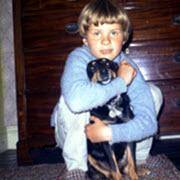Clwd Probert - Childhood Pic 180 x 180