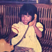 Rea May - Childhood Pic 180 x 180