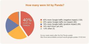 Google Panda Impact